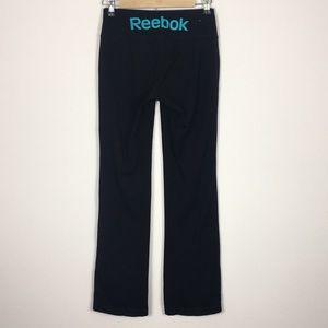 Reebok Black Bootcut Yoga Pants